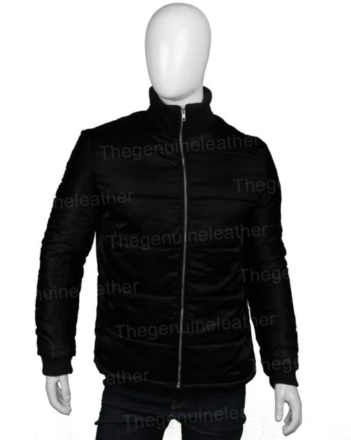 Chicago P.D. S07 Hank Voight Black Puffer Jacket