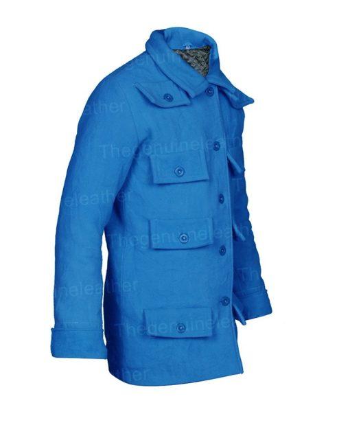 Emily Cooper Blue Coat