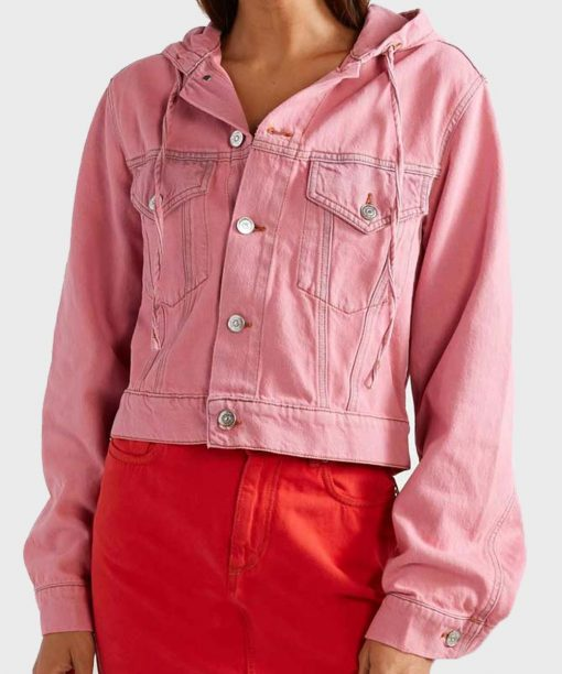 Emily Cooper Emily In Paris Hooded Jacket