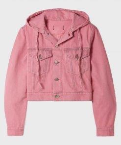 Emily Cooper Emily In Paris Pink Hooded Jacket