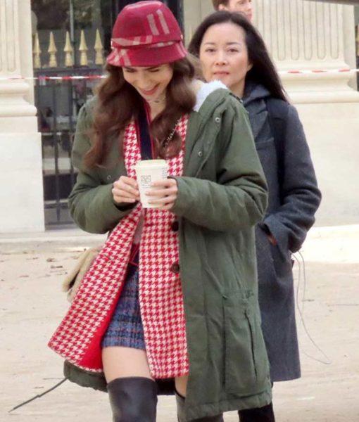 Emily Cooper Emily in Paris Green Coat