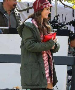 Emily Cooper Emily in Paris Hooded Coat