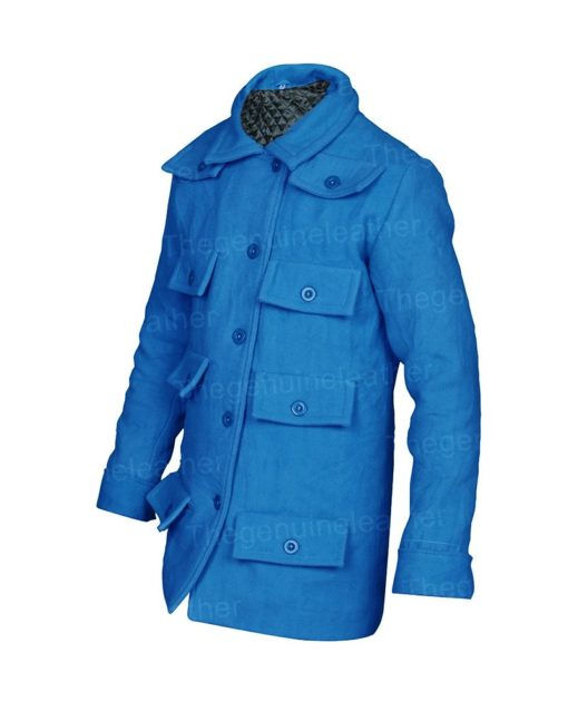 Emily In Paris Blue Coat