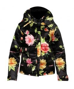 Emily In Paris Emily Cooper Floral Puffer Jacket