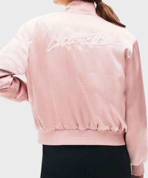 Emily In Paris Emily Cooper Pink Bomber Jacket