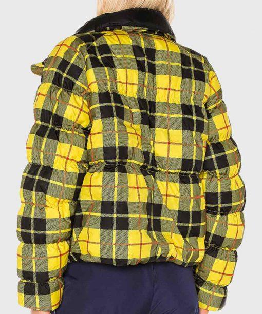 Emily In Paris Emily Cooper Yellow Plaid Jacket