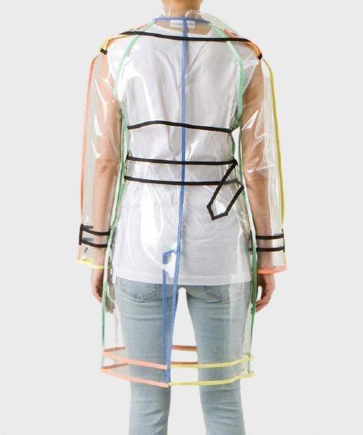Emily In Paris Emily Cooper Transparent PVC Coat