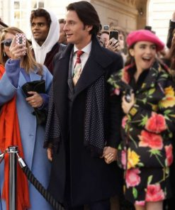 Emily in Paris Antoine Lambert Black Coat