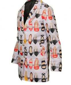 Emily in Paris Emily Cooper White Trench Coat