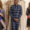 Emily in Paris Julien Checkered Suit