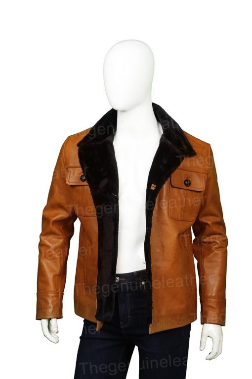 Fargo Dodd Gerhardt Brown Leather Jacket