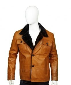 Fargo Dodd Gerhardt Leather Shearling Jacket