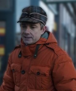 Fargo Lester Nygaard Orange Hooded Jacket