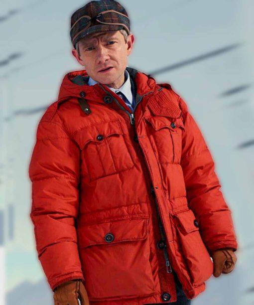 Fargo Lester Nygaard Orange Jacket
