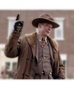 Fargo S04 Dick Wickware Brown Coat