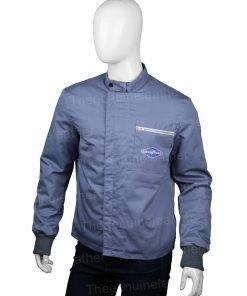Ford V Ferrari Ken Miles Grey Jacket