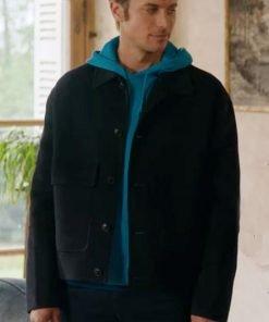 Gabriel Emily in Paris Black Jacket