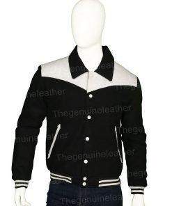 Power Book II Ghost Tariq St Patrick Black Varsity Jacket