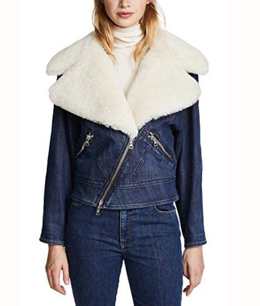 Pretty Little Liars Ava Jalali Shearling Jacket