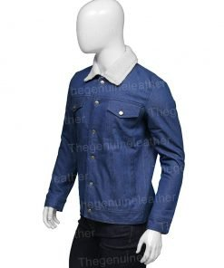 Tell Me Why Tyler Ronan Blue Denim Jacket