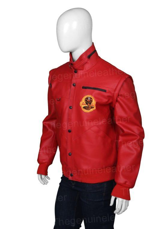Cobra Kai Johnny Lawrence Red Jacket