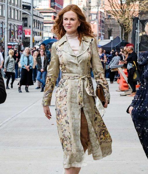 Nicole Kidman The Undoing Grace Fraser Floral Coat