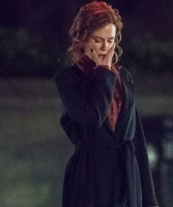 The Undoing Grace Fraser Black Long Coat