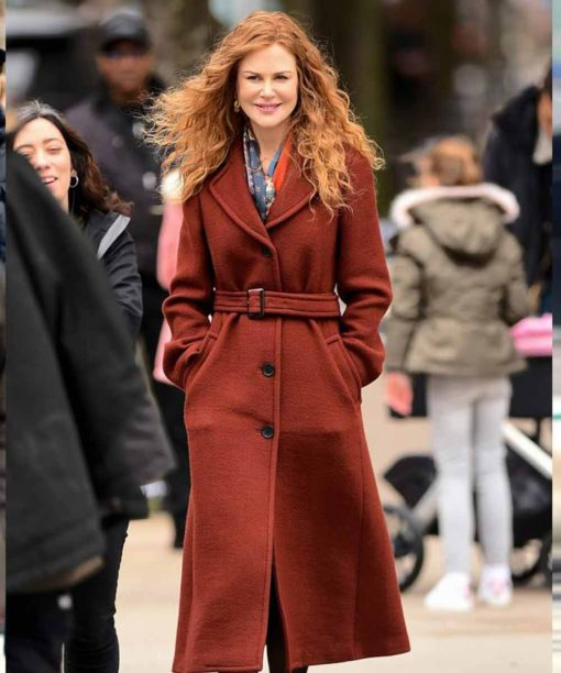 The Undoing Grace Fraser Brown Wool Coat