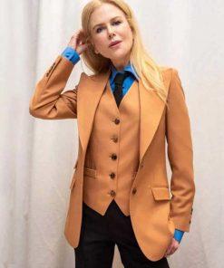 The Undoing Nicole Kidman Brown Suit