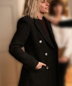 Happiest Season Abby Black Coat