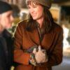Happiest Season Harper Brown Trench Coat