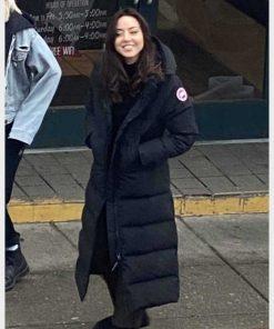 Happiest Season Riley Puffer Coat