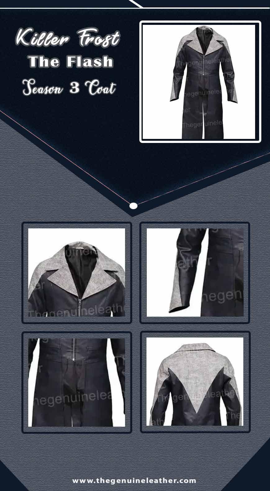 Killer Frost The Flash Season 3 Coat info