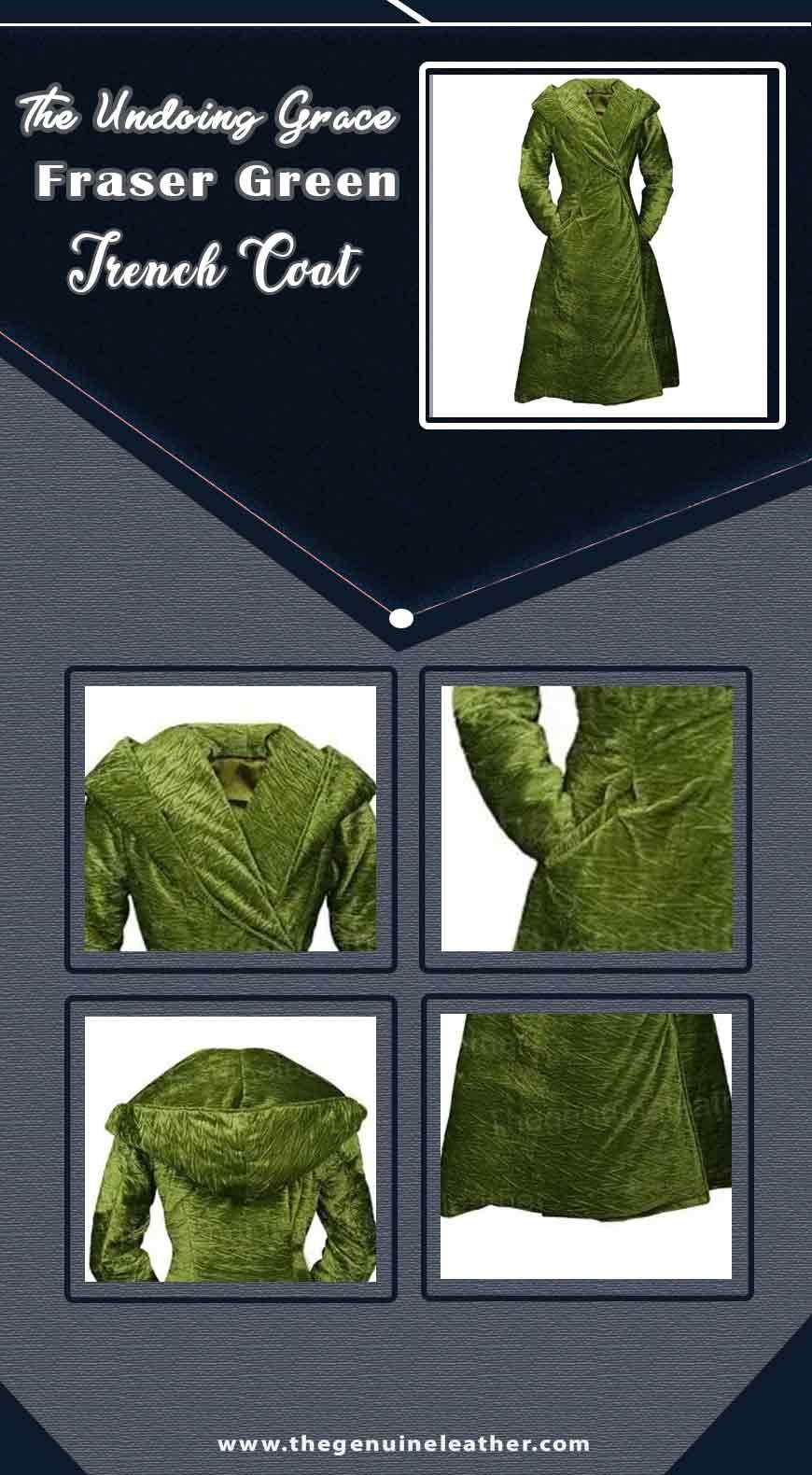 The Undoing Grace Fraser Green Trench Coat info