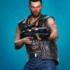 Cyberpunk V Nomad Leather Vest