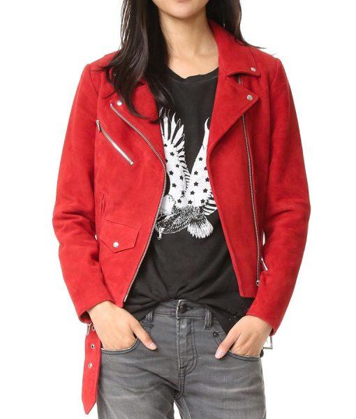 Jennifer Morrison Once Upon A Time Red Jacket