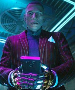 Mr. Goldhand Cyberpunk 2077 Blazer