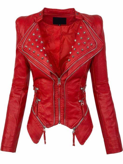 Womens Valentines Red Jacket
