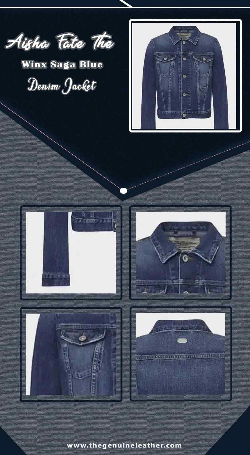 Aisha Fate The Winx Saga Blue Denim Jacket info