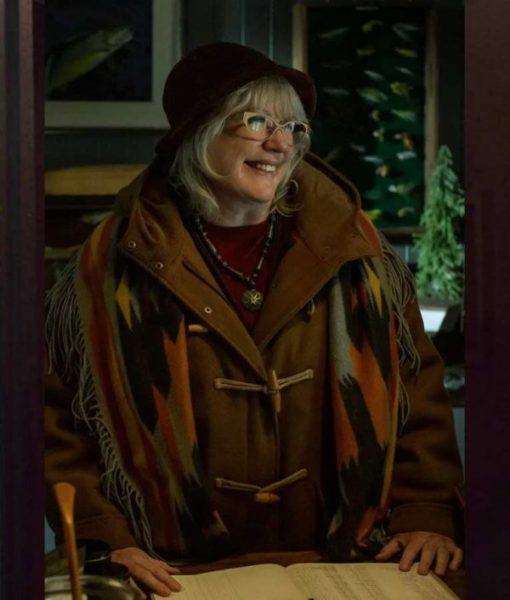 American Gods Ann-Marie Hinzelmann Brown Coat