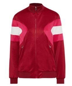Fate The Winx Saga Aisha Red Bomber Jacket