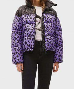 Love Life Sara Yang Leopard Jacket