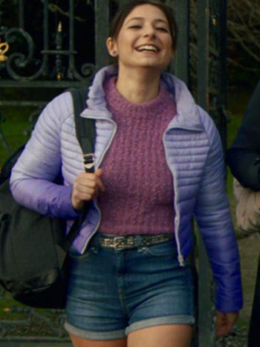 Musa Fate The Winx Saga Purple Puffer Jacket