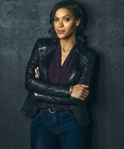 Nancy Drew Alvina August Black Leather Jacket