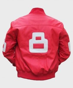 Pink 8 Ball Bomber Jacket