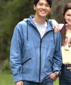 Power Rangers Dino Fury Ollie Akana Blue Jacket