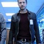 The Resident Matt Czuchry Black Leather Jacket