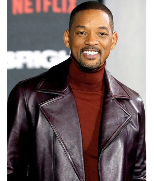Aladdin Will Smith Promotion Leather Jacket