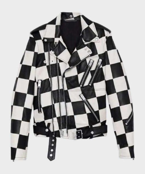 Bold and the Beautiful Paris Buckingham Checkered Jacket