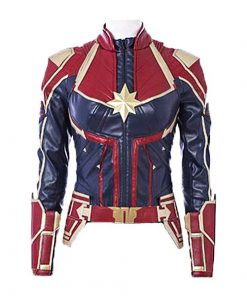 Captain Marvel Superhero Jacket